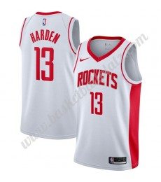 Houston Rockets Trikot Herren 2019-20 James Harden 13# Weiß Association Edition Basketball Trikots N..